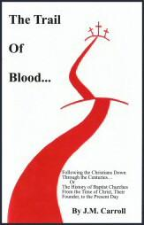 The Trail of Blood Book Cover